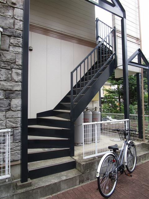 デザイン性のある階段!