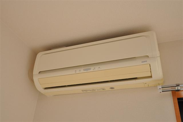 各部屋エアコン付き♪