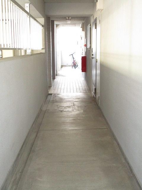清潔感のある共用廊下!