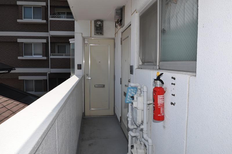 1フロア2戸の全戸角部屋!