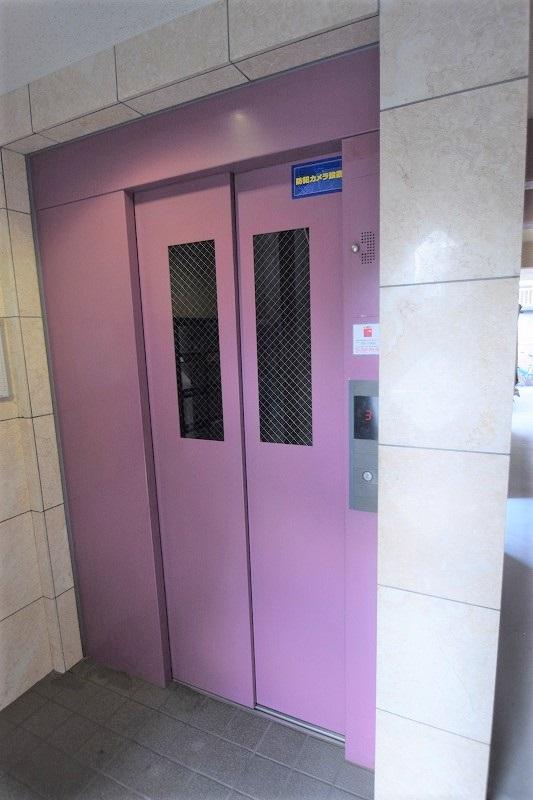 入居促進につながるエレベーター完備!