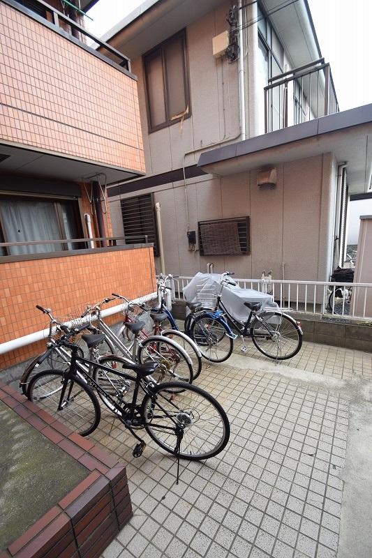 入居者専用の駐輪スペース♪