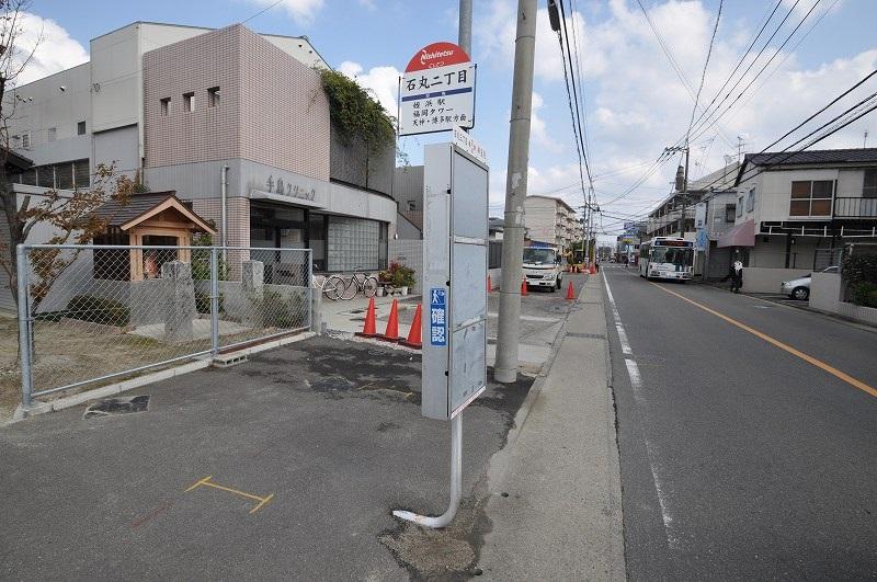 最寄りのバス停まで徒歩2分☆