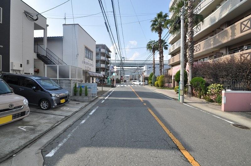 前面道路:幅員約7.21m~8.20m・接道約9.10m