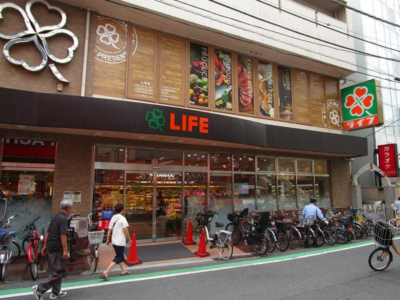 日常の買い物に便利なスーパーまで徒歩3分!