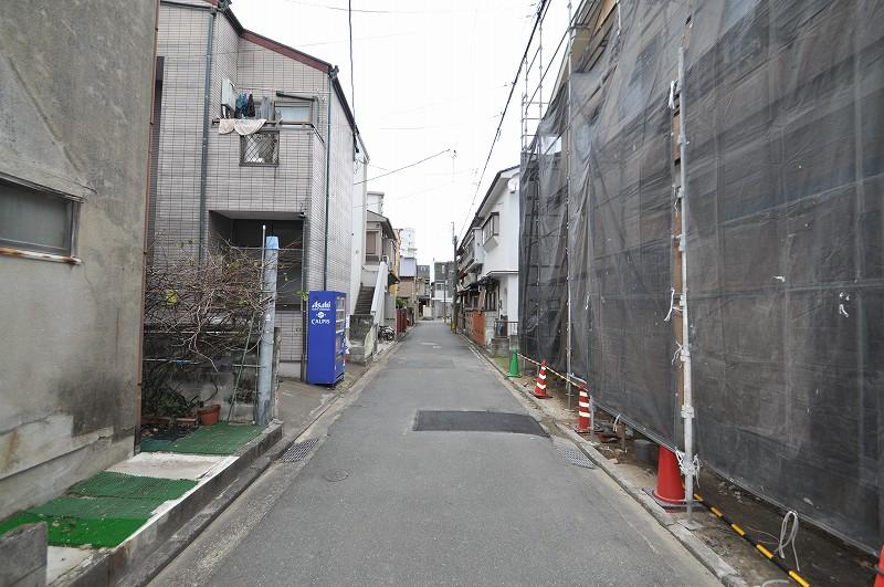前面道路:幅員約3.83m~3.87m・接道約7.47m