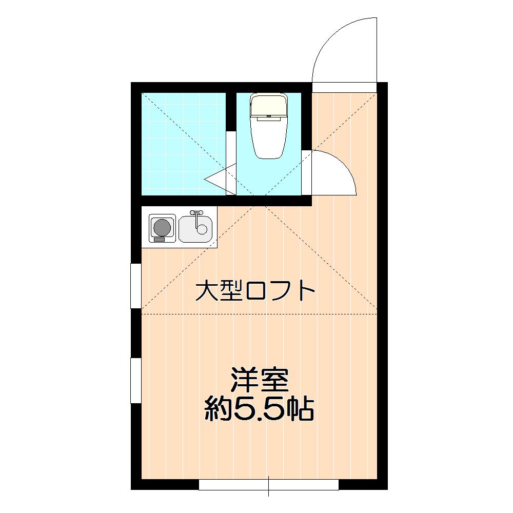 人気のロフト付・バストイレ別♪