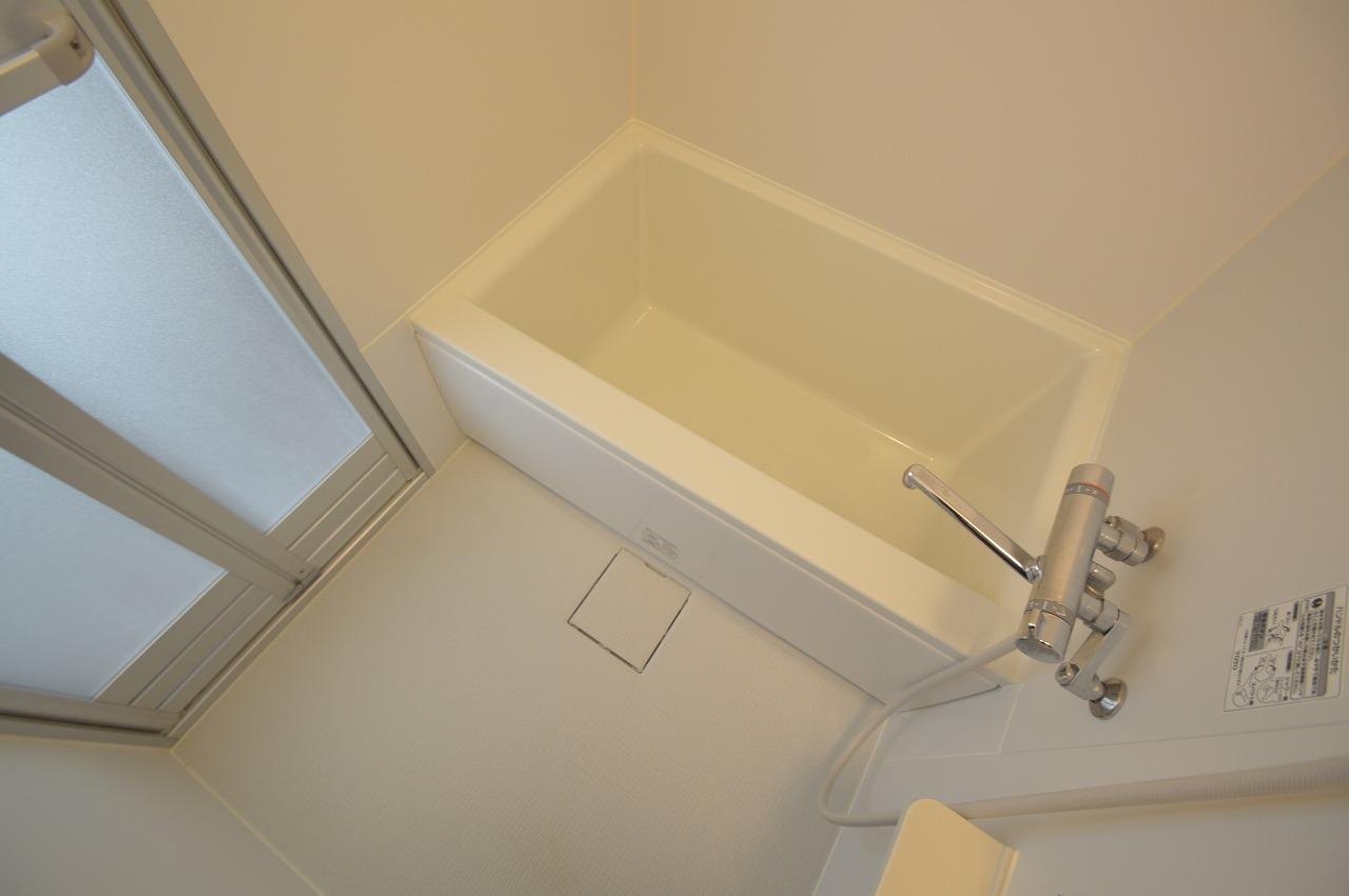 混合水栓設備のあるバスルーム☆