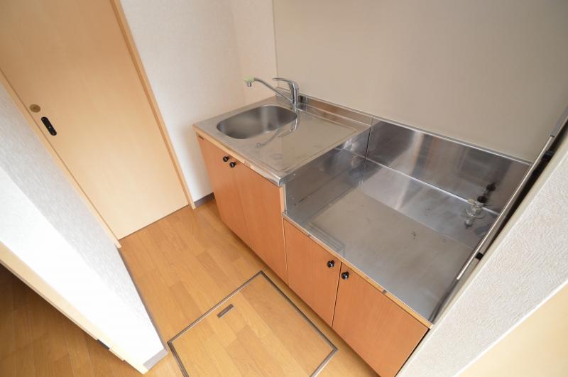 単身者には十分な広さのキッチンスペース!