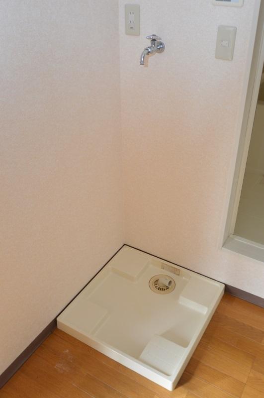 室内洗濯機置き場完備♪
