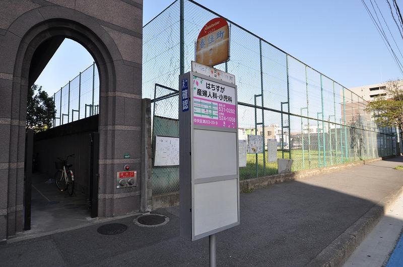 最寄りバス停は博多駅まで乗換えなし☆