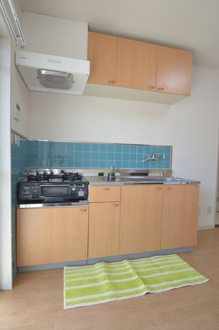 収納棚が多く使い勝手の良いキッチン!