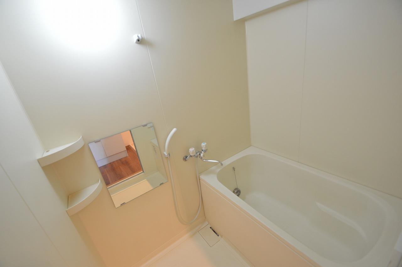 シンプルで使い勝手のよい浴室◎